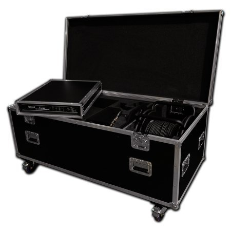 Custom Camcorder Flight Case With Lens Space + Cable Drum