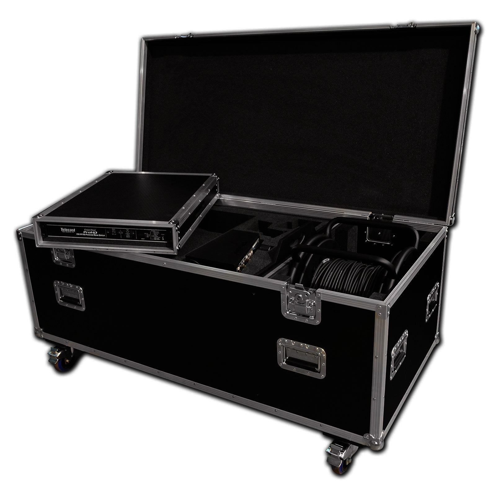 custom camcorder flight case with lens space cable drum. Black Bedroom Furniture Sets. Home Design Ideas