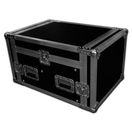 4u x 12u Console Mixer Rack Flight Case