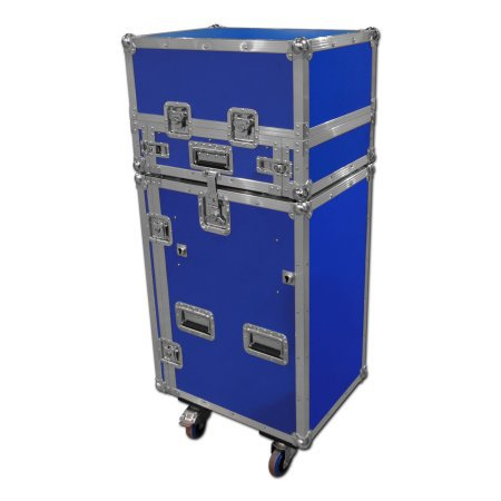 Portable Events Flight Case With Cash Till And Champagne Storage