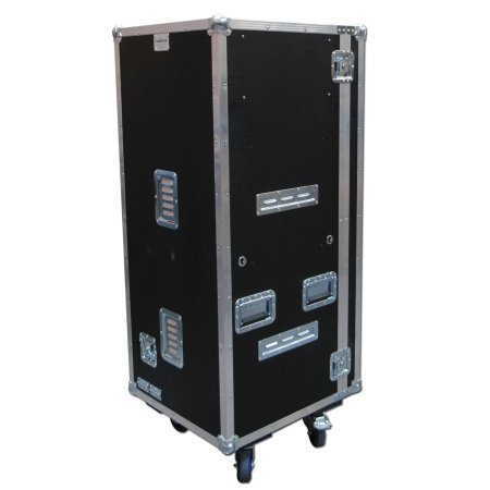 Mobile Fridge + Microwave Flight Case With Table Door