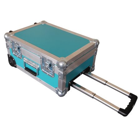 Camera + Lense Pro Flightcase With Retractable Handle + Wheels