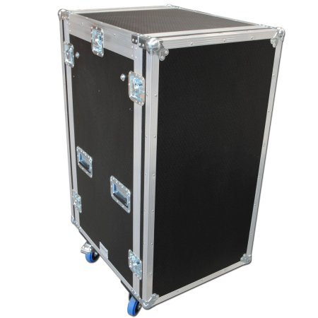 12u x 16u Sleeved Mixer Rack Flightcase