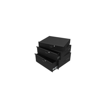 4u 19 Lightweight Aluminium Rack Drawer