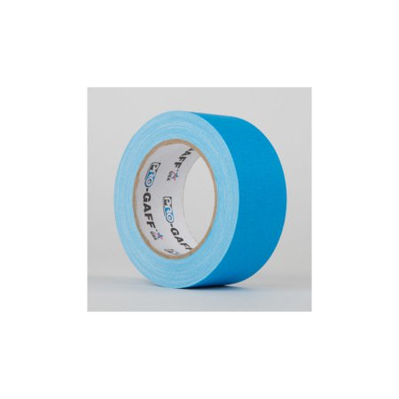 Pro Gaff Fluorescent Tape 48mm x 22.8m Blue