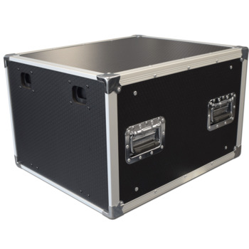 Spider 8u 19 Slam Rack Flight Case