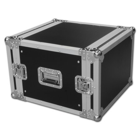 Spider 8u Rackmount Flight Case 460mm Deep