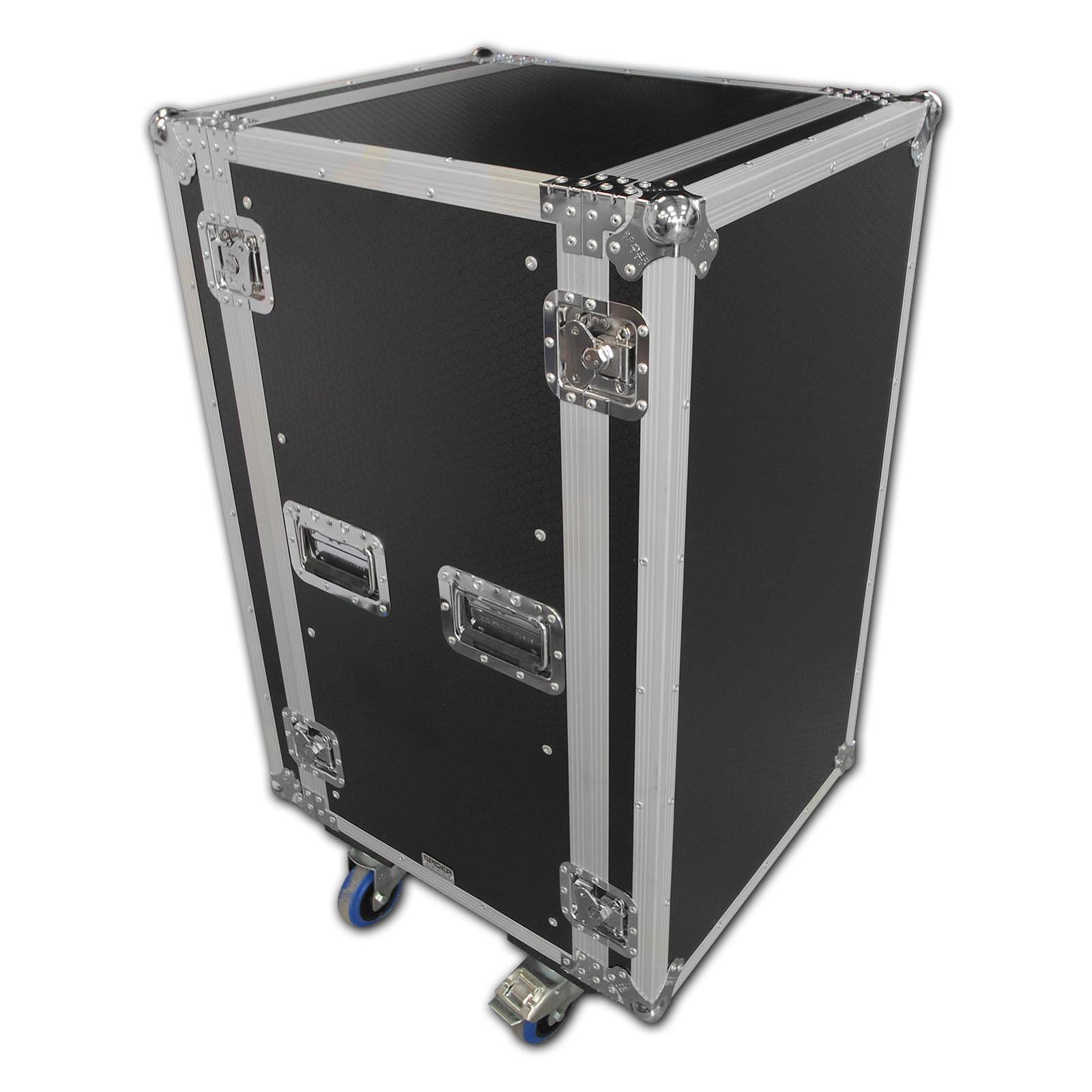 spider 20u rackmount flight case on castors. Black Bedroom Furniture Sets. Home Design Ideas