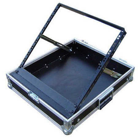 10u Pop up Mixer Rack Flight Case Briefcase