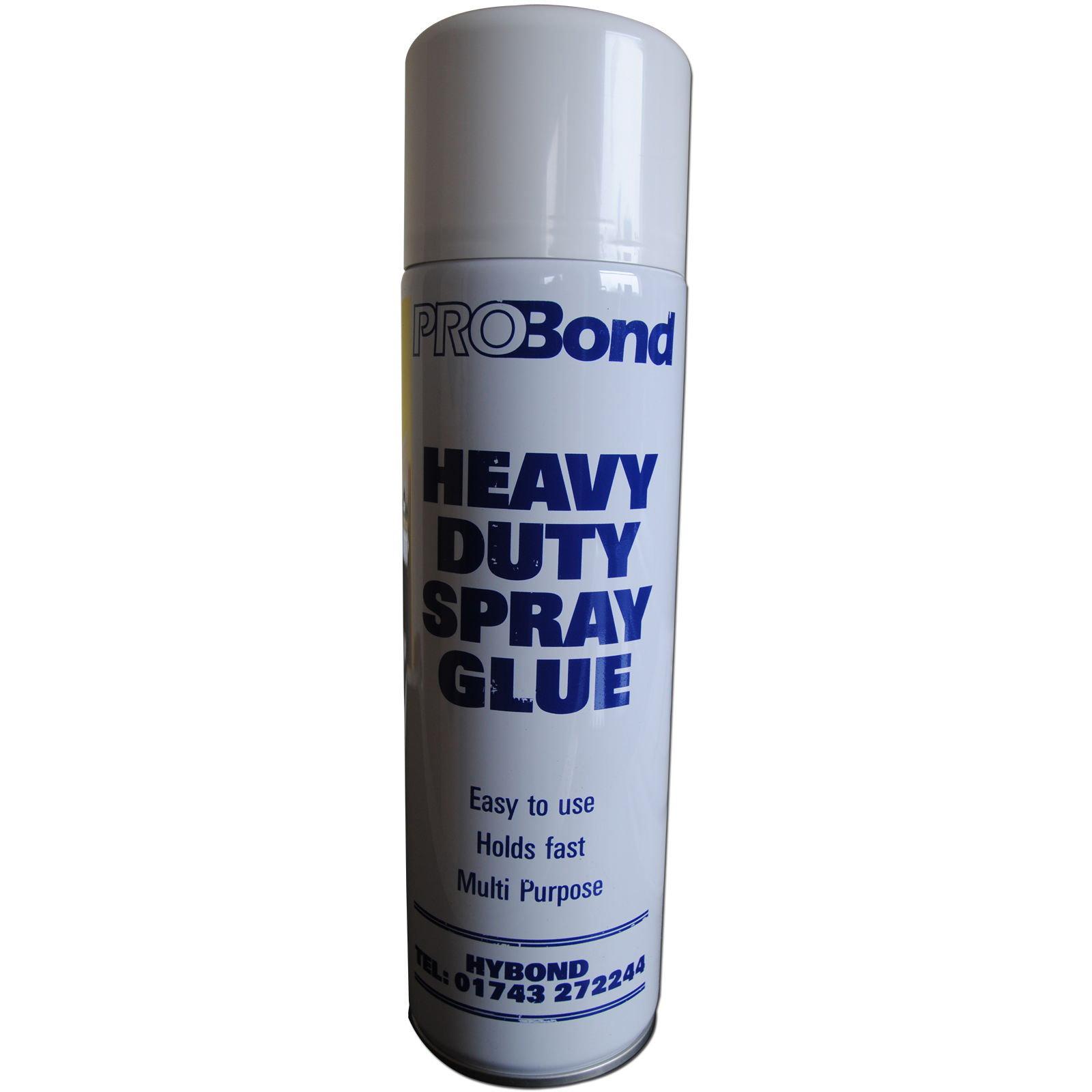 Heavy Duty Glass Glue : Heavy duty spray adhesvive