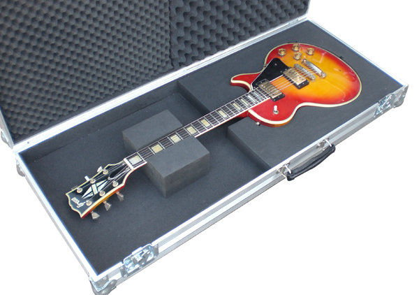 gibson les paul guitar flight case. Black Bedroom Furniture Sets. Home Design Ideas