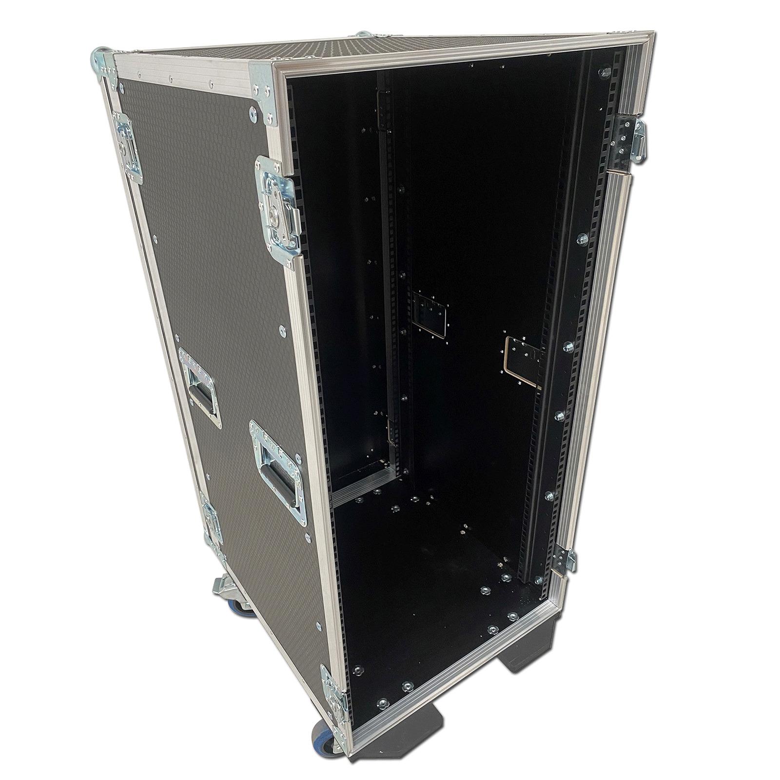 22u rack case flight case. Black Bedroom Furniture Sets. Home Design Ideas