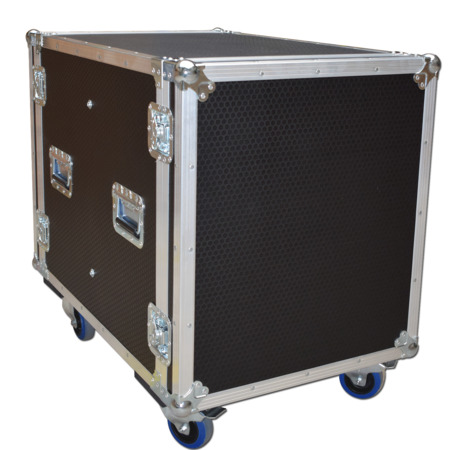 14u Sleeved Rackmount Case Flight case