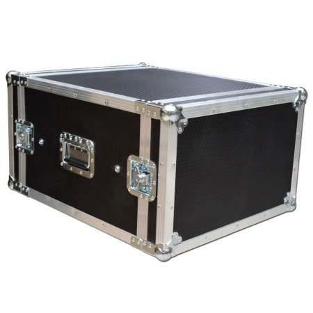 6u Sleeved Rackmount Case Flight case