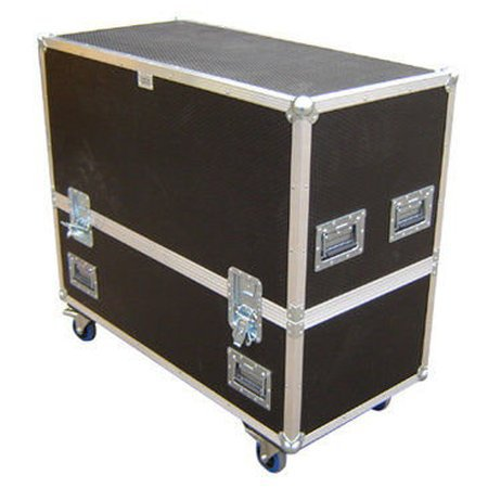KAM Pro Sub 15A Twin Speaker Flight Case