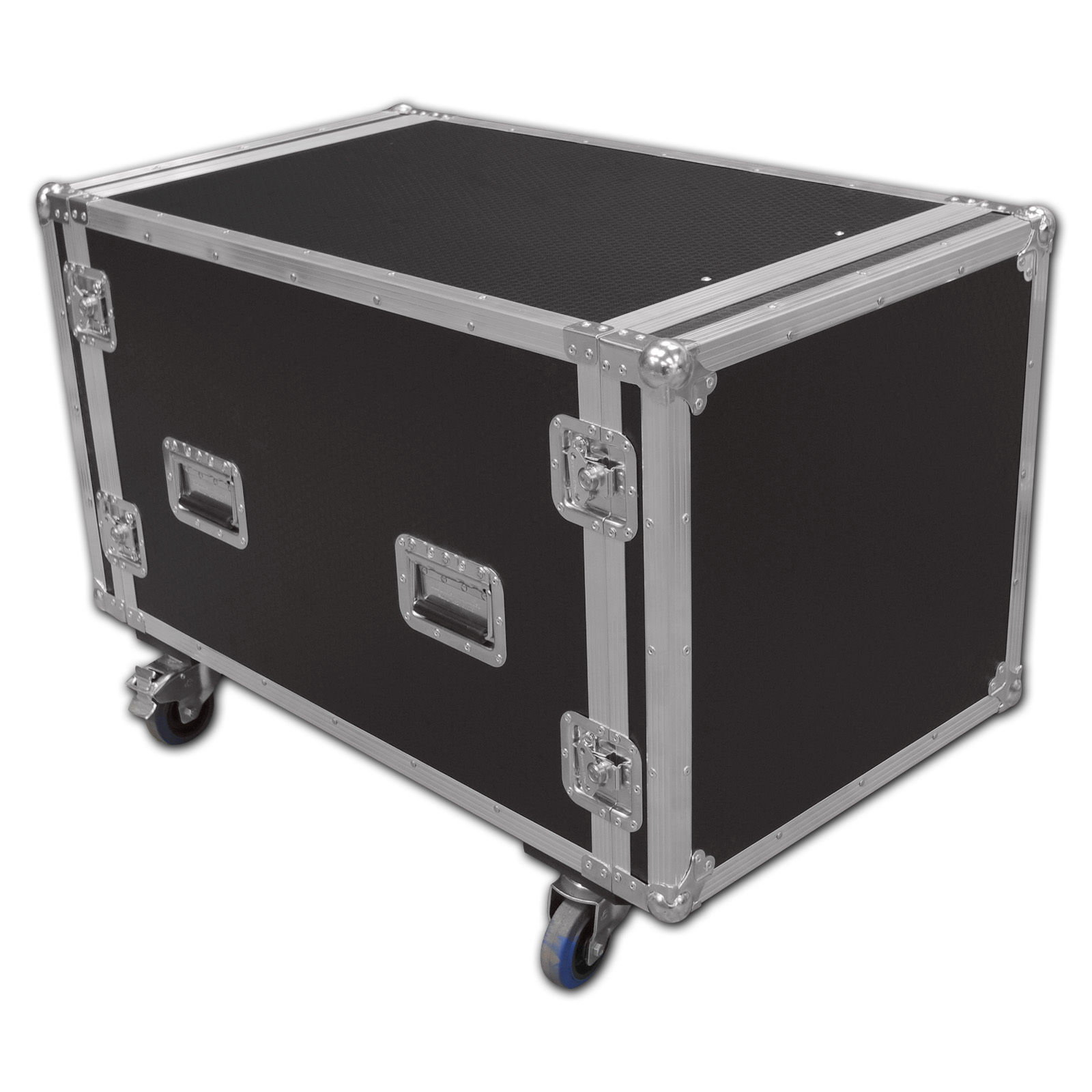 10u computer server rackmount flight case. Black Bedroom Furniture Sets. Home Design Ideas