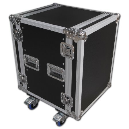 Spider 14u Rackmount Flight Case On Castors