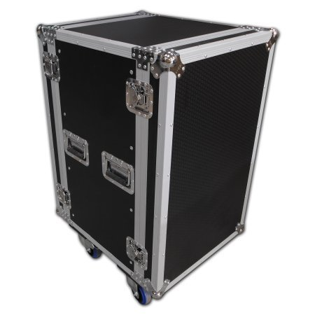 Spider 18u Rackmount Flight Case On Castors