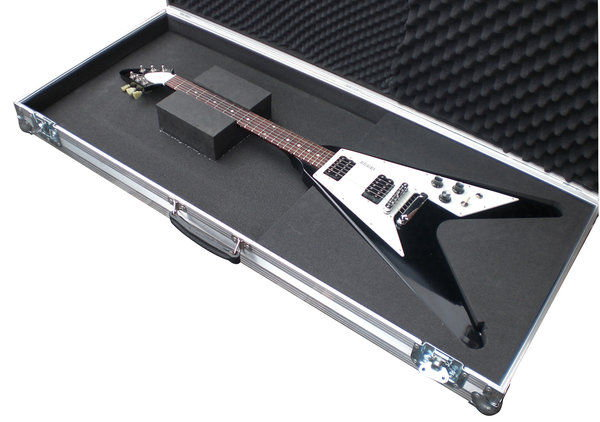 gibson flying v guitar flight case. Black Bedroom Furniture Sets. Home Design Ideas