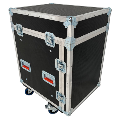 Spider 12u x 12u Mixer Rack On Castors
