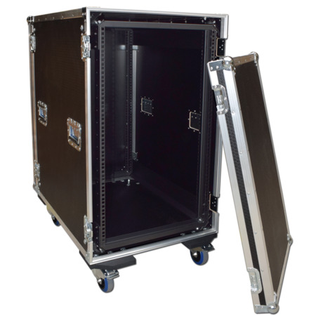 18u Shockmount Rack Case Flight Case