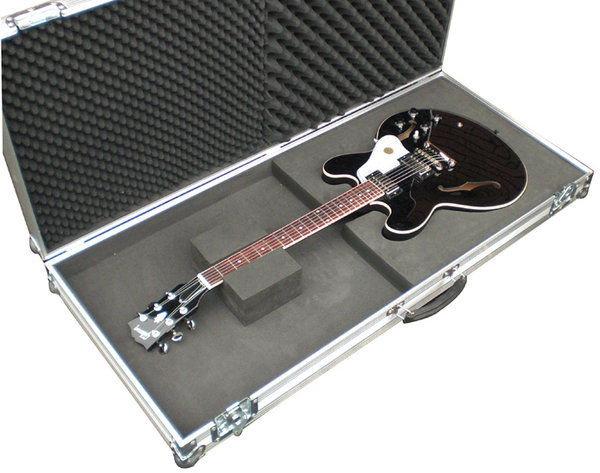 guitar flightcase for gibson 335 electric guitar. Black Bedroom Furniture Sets. Home Design Ideas