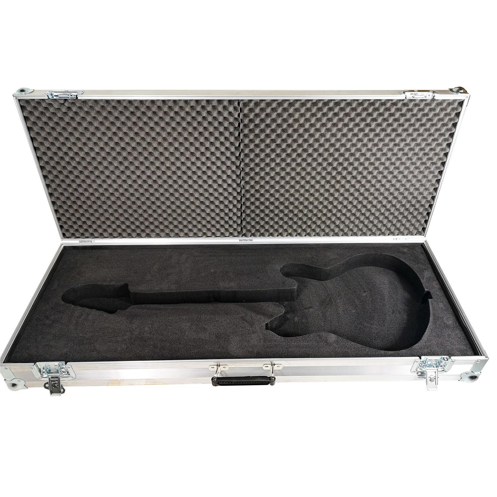 fender starcaster electric guitar hard case flight case. Black Bedroom Furniture Sets. Home Design Ideas