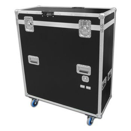 50 Plasma LCD TV Flight Case With Built In Electric Lift