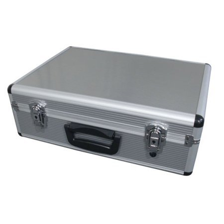 SpiderLite Lightweight Semi Flight Case With foam Lining In Silver