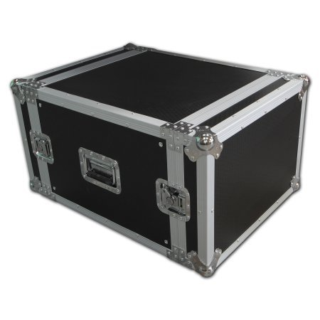 Spider 8u Rackmount Flight Case 550mm Deep