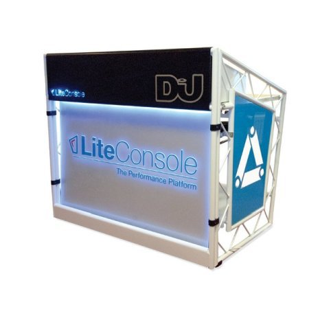 LiteConsole XPRS Foldable Mobile DJ Stand