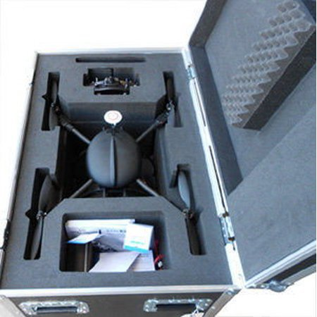 Custom Made Quadcopter Flight Case With CNC Insert