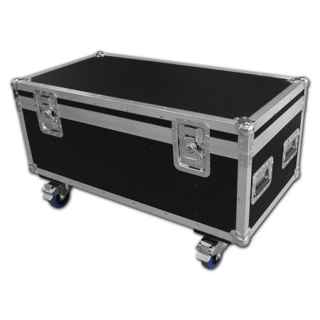 QTX SP-64 Slimline LED Par 8 Way Flightcase