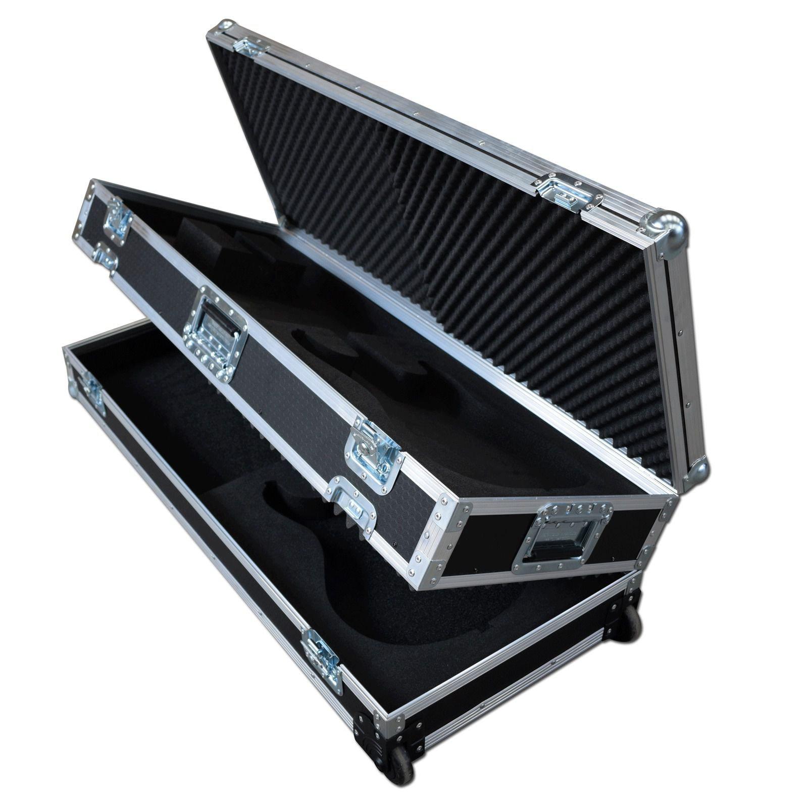 custom double guitar flight case. Black Bedroom Furniture Sets. Home Design Ideas