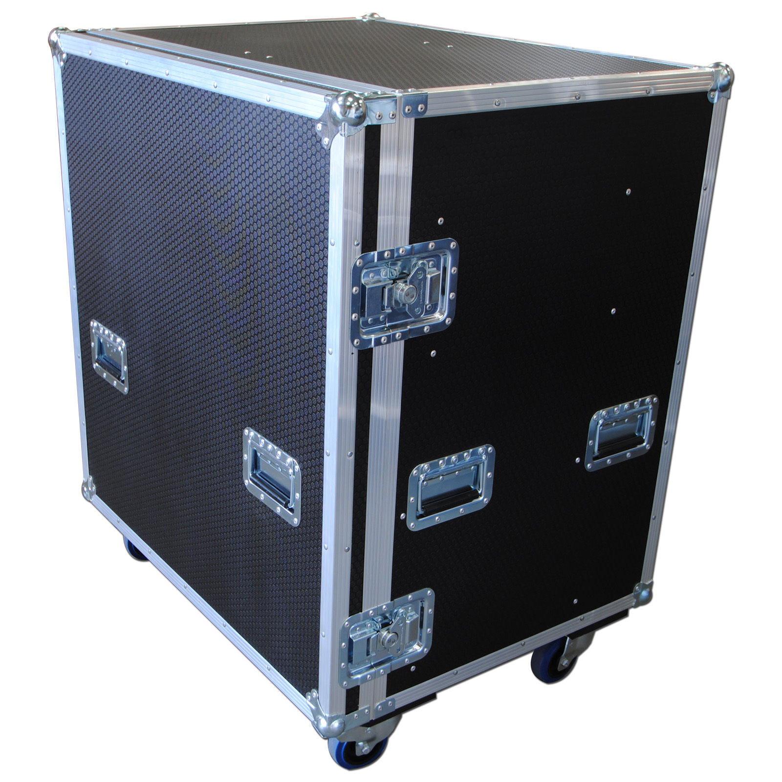 Custom Large Production Flight Case With 8 Trays