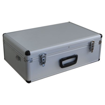 Large Spiderlite Lightweight Semi Flight Case With Tool Insert Dividers + Pick Foam In Silver