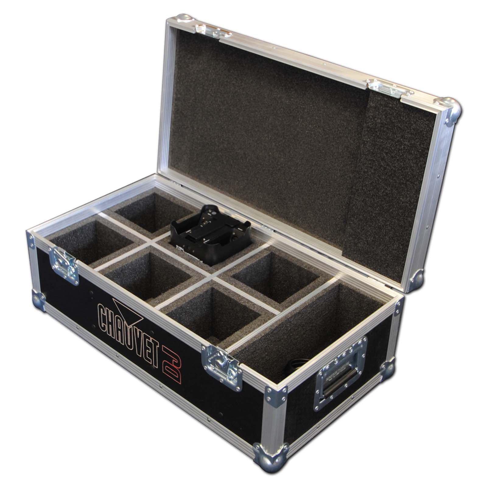 chauvet 6 way freedom par hex 4 flight case. Black Bedroom Furniture Sets. Home Design Ideas