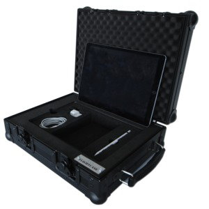 Black Edition iPad Flightcases