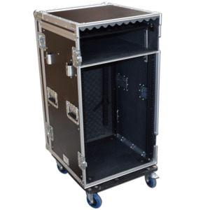 Spider Pro 19 Mixer Rack Flightcases