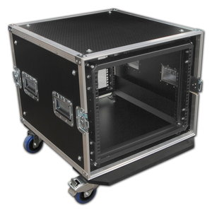 Custom Shockmount Rack Flight cases