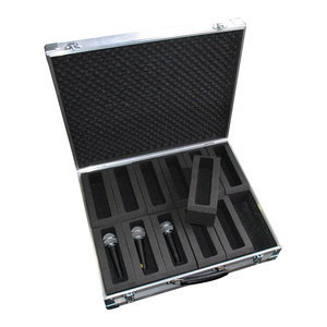 Custom made Microphone Flight Cases
