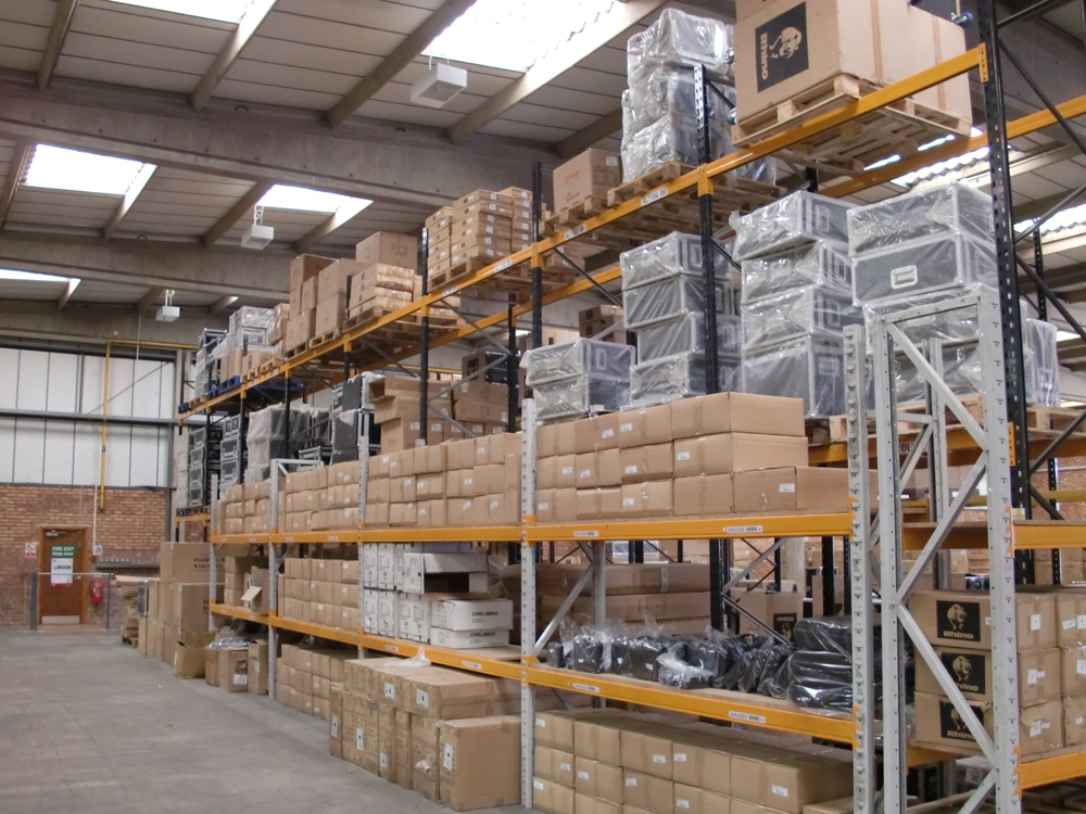 Inside The Flightcase Warehouse